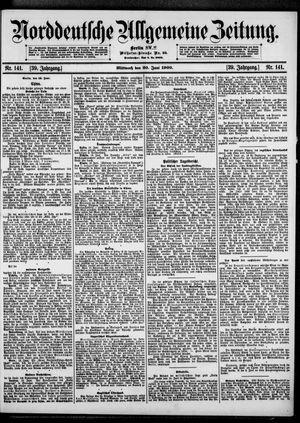 Norddeutsche allgemeine Zeitung vom 20.06.1900