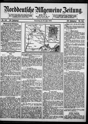Norddeutsche allgemeine Zeitung vom 21.06.1900