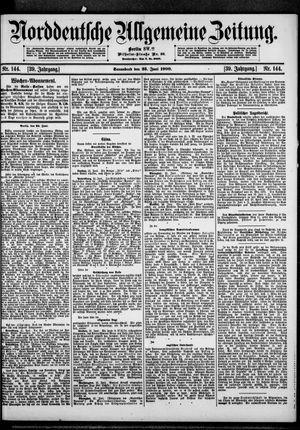 Norddeutsche allgemeine Zeitung vom 23.06.1900