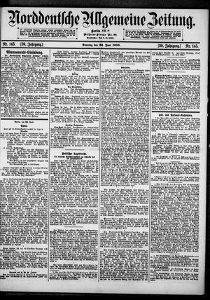 Norddeutsche allgemeine Zeitung vom 24.06.1900