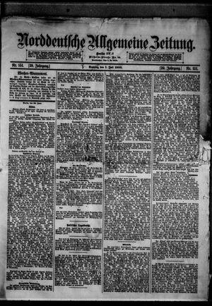 Norddeutsche allgemeine Zeitung vom 01.07.1900