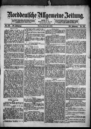 Norddeutsche allgemeine Zeitung vom 03.07.1900