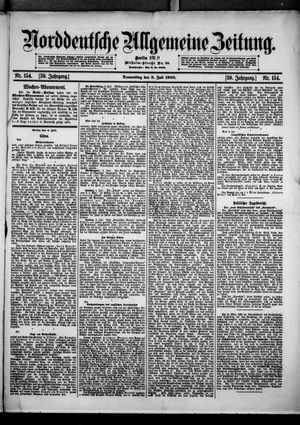 Norddeutsche allgemeine Zeitung vom 05.07.1900
