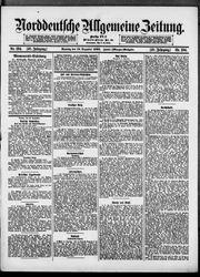 Norddeutsche allgemeine Zeitung (16.12.1900)