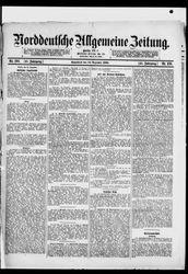 Norddeutsche allgemeine Zeitung (14.12.1901)