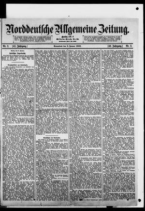 Norddeutsche allgemeine Zeitung on Jan 3, 1903