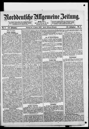 Norddeutsche allgemeine Zeitung vom 04.01.1903