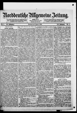 Norddeutsche allgemeine Zeitung vom 06.01.1903