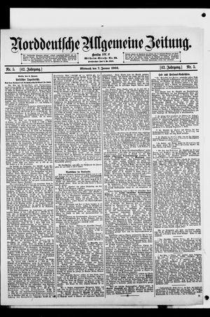 Norddeutsche allgemeine Zeitung vom 07.01.1903