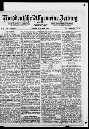 Norddeutsche allgemeine Zeitung vom 08.01.1903