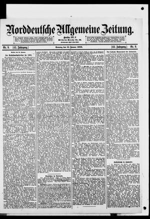 Norddeutsche allgemeine Zeitung vom 11.01.1903