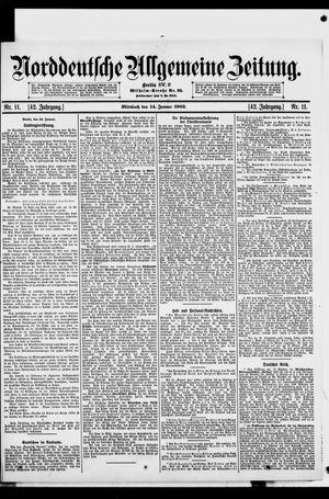 Norddeutsche allgemeine Zeitung vom 14.01.1903