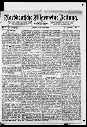 Norddeutsche allgemeine Zeitung vom 15.01.1903