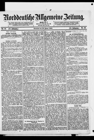 Norddeutsche allgemeine Zeitung vom 24.01.1903