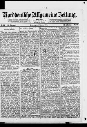 Norddeutsche allgemeine Zeitung vom 29.01.1903