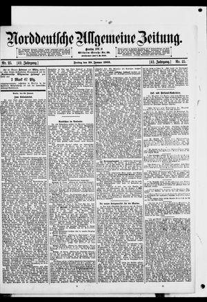 Norddeutsche allgemeine Zeitung vom 30.01.1903