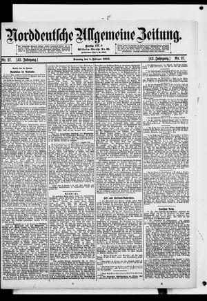 Norddeutsche allgemeine Zeitung vom 01.02.1903
