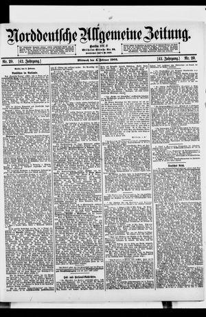 Norddeutsche allgemeine Zeitung vom 04.02.1903