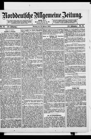 Norddeutsche allgemeine Zeitung on Feb 10, 1903