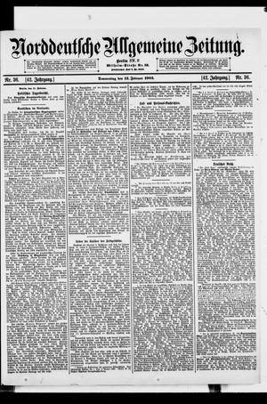 Norddeutsche allgemeine Zeitung on Feb 12, 1903