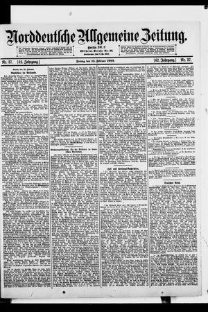 Norddeutsche allgemeine Zeitung vom 13.02.1903