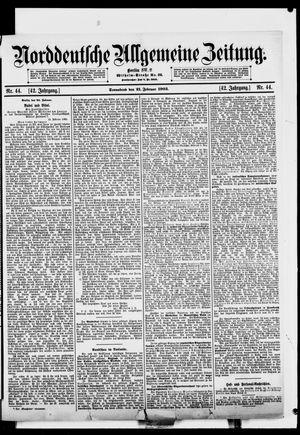 Norddeutsche allgemeine Zeitung vom 21.02.1903