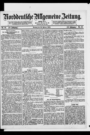 Norddeutsche allgemeine Zeitung vom 24.02.1903