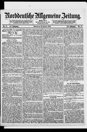 Norddeutsche allgemeine Zeitung vom 25.02.1903