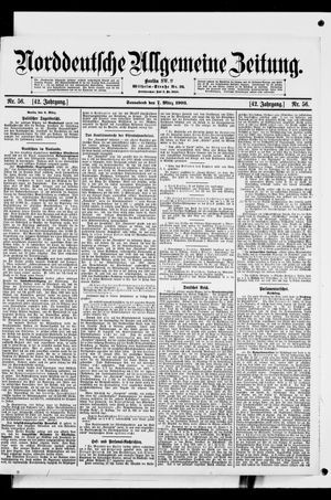 Norddeutsche allgemeine Zeitung vom 07.03.1903