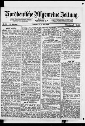 Norddeutsche allgemeine Zeitung vom 12.03.1903
