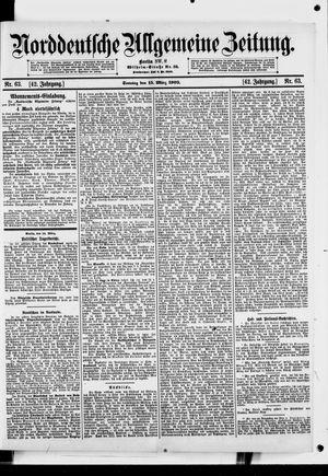 Norddeutsche allgemeine Zeitung vom 15.03.1903