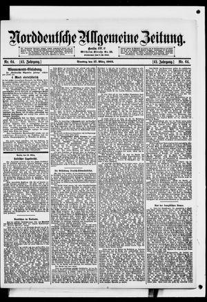 Norddeutsche allgemeine Zeitung vom 17.03.1903