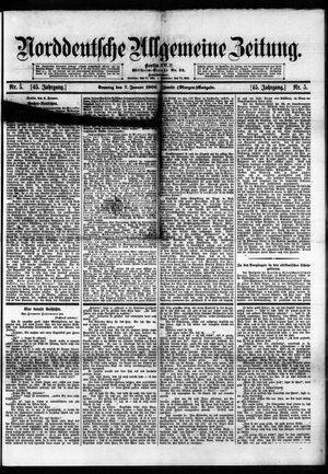 Norddeutsche allgemeine Zeitung on Jan 7, 1906
