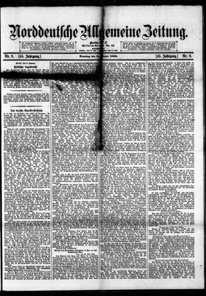 Norddeutsche allgemeine Zeitung vom 09.01.1906