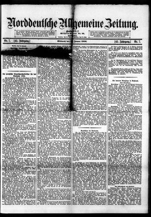 Norddeutsche allgemeine Zeitung vom 10.01.1906