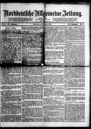 Norddeutsche allgemeine Zeitung vom 11.01.1906