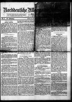Norddeutsche allgemeine Zeitung vom 12.01.1906