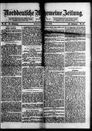 Norddeutsche allgemeine Zeitung vom 13.01.1906