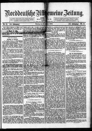 Norddeutsche allgemeine Zeitung vom 16.01.1906
