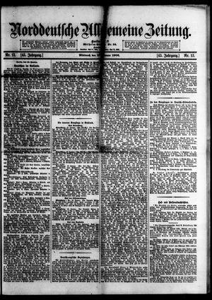 Norddeutsche allgemeine Zeitung vom 17.01.1906