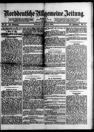 Norddeutsche allgemeine Zeitung vom 18.01.1906