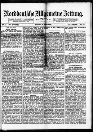 Norddeutsche allgemeine Zeitung vom 19.01.1906