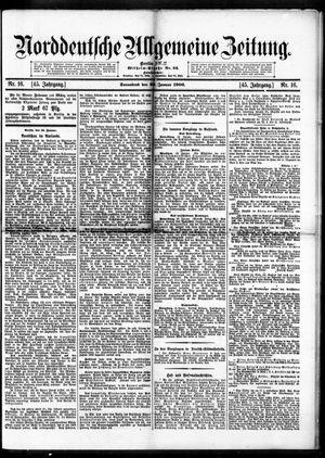 Norddeutsche allgemeine Zeitung vom 20.01.1906