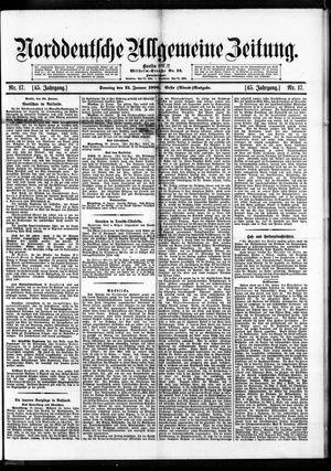 Norddeutsche allgemeine Zeitung vom 21.01.1906