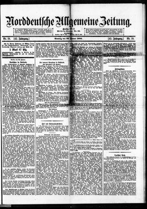 Norddeutsche allgemeine Zeitung vom 23.01.1906