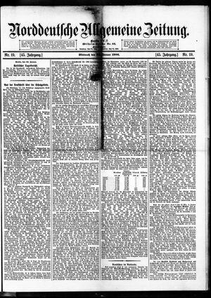 Norddeutsche allgemeine Zeitung vom 24.01.1906