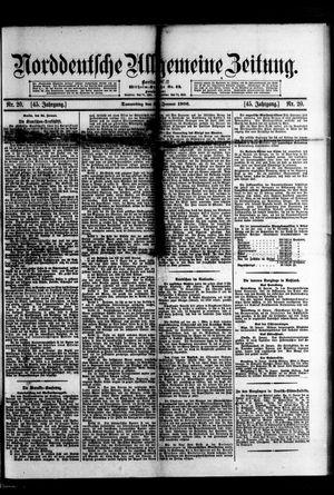Norddeutsche allgemeine Zeitung vom 25.01.1906