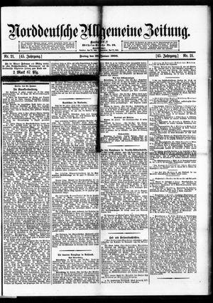 Norddeutsche allgemeine Zeitung vom 26.01.1906
