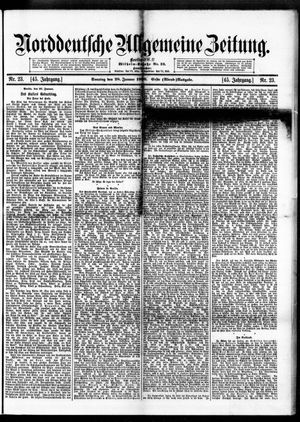 Norddeutsche allgemeine Zeitung vom 28.01.1906