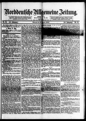 Norddeutsche allgemeine Zeitung vom 31.01.1906